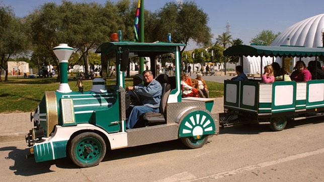 Tren de paseo del parque del Alamillo