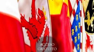Exposición de banderas en el Edificio de Capitanía General