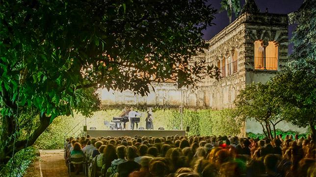 noches en los jardines del alc zar 2015 agenda abc de