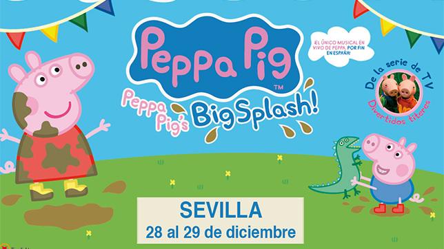Peppa pig big splash en fibes agenda abc de sevilla for Espectaculo peppa pig uruguay