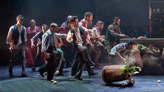 «Germinal. Es tiempo de revolución», danza en el Lope de Vega