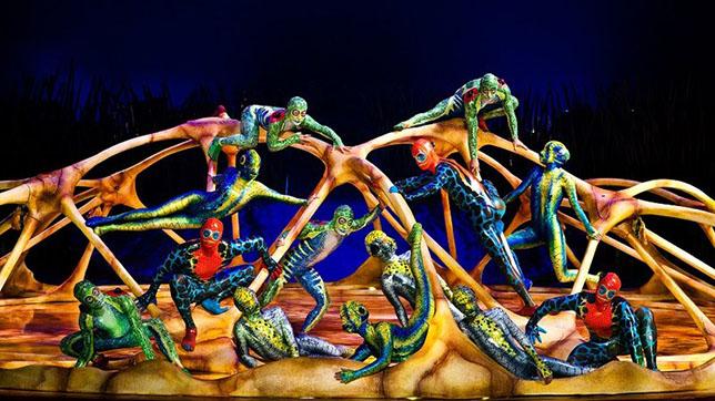 «Totem», Cirque du Soleil en Sevilla